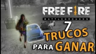 ¡7 TRUCOS Y CONSEJOS PARA MEJORAR Y GANAR PARTIDAS EN FREE FIRE | COMO SER PRO EN FREE FIRE thumbnail