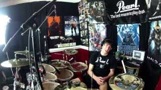Video Up In The Air - Drum Cover - 30 Seconds To Mars (NEW SONG) download MP3, 3GP, MP4, WEBM, AVI, FLV Desember 2017
