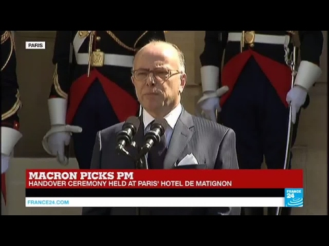 France: Prime Minister Bernard Cazeneuve hands power over to Édouard Philippe