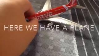 Airasia airport Playset Unbox
