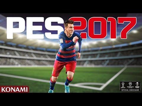 Играем в PES 2017!!! ЛИГА ЧЕМПИОНОВ!
