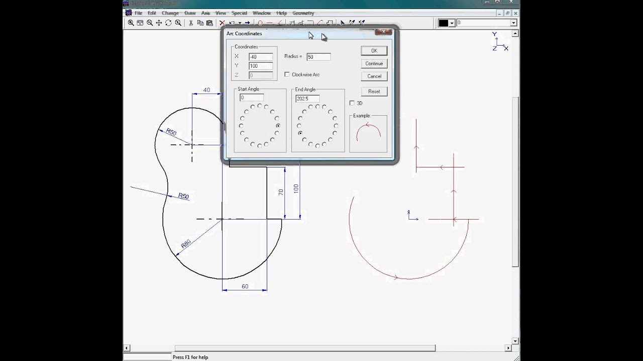 199 Easy In Use 2d Cad Drafting Program Youtube
