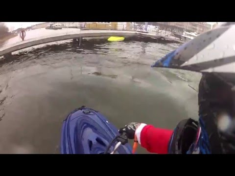 Stockholm Jetski winter cruise 2015 part1