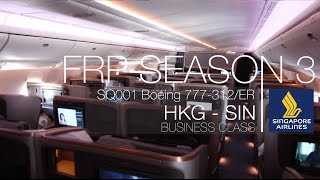 Singapore Airlines New LongHaul Business Class Experience (2) | SQ001 HKG - SIN