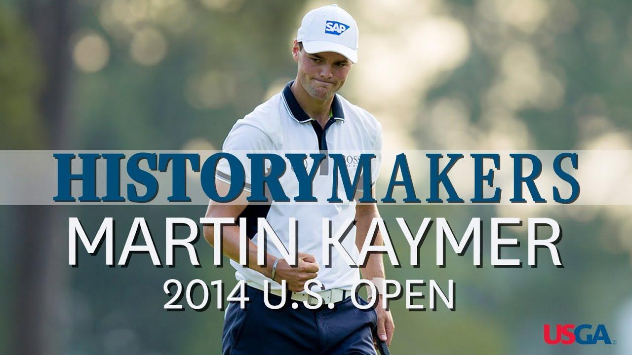 History Makers: Martin Kaymer Sets 36-Hole U.S. Open Scoring Record