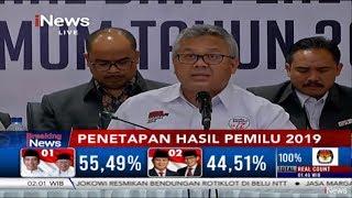 [BREAKING] KPU Tetapkan Jokowi-Ma'ruf Pemenang Pilpres 2019 - Breaking iNews 21/05