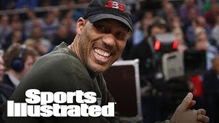 LaVar Ball Can't Dictate Where Lonzo Ball Signs His Next Contract | SI NOW | Sports Illustrated