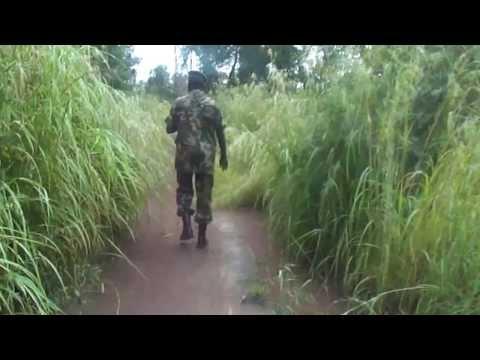 Patrol in Northern Bahr el Ghazal, South Sudan