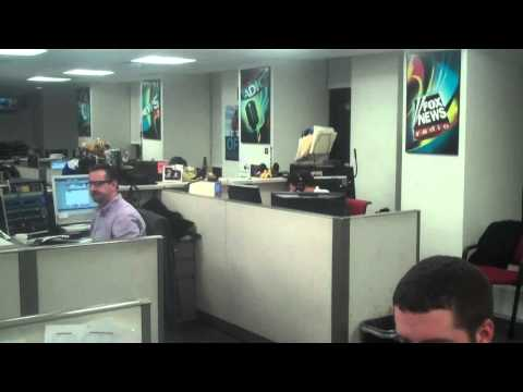 BEHIND THE SCENES: FOX News Radio NYC Newsroom