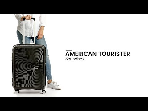 American Tourister Soundbox Spinner - Bagageonline