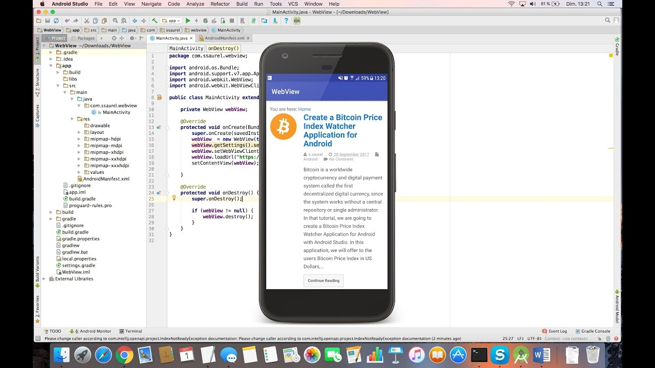 Load an External Web Site in a WebView on Android – All for Android