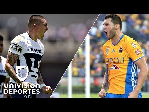 El Pumas-Tigres tendrá un duelo de fieras: 'Nico' Castillo vs. André-Pierre Gignac