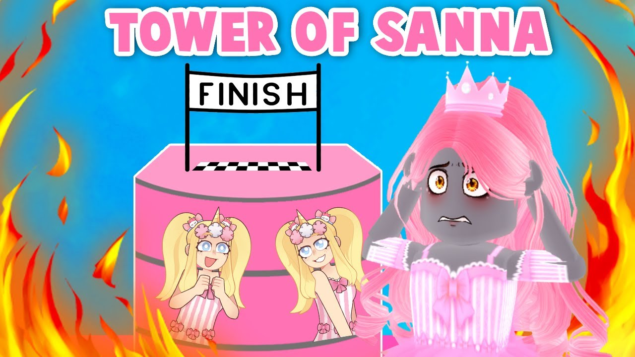 Tower Of SANNA! *SO MUCH PINK* ! (Roblox)