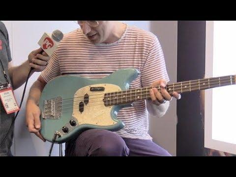 SNAMM '17 - Fender Justin Meldal-Johnsen (JMJ) Signature Mustang Bass Demo