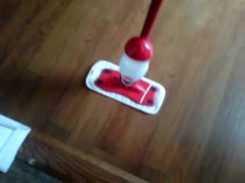 REVIEW: O Cedar Pro Mist Mop Dry/Wet Cleaning Laminate/Wood floor