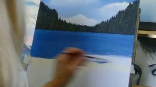 Acrylic Painting Seascapes