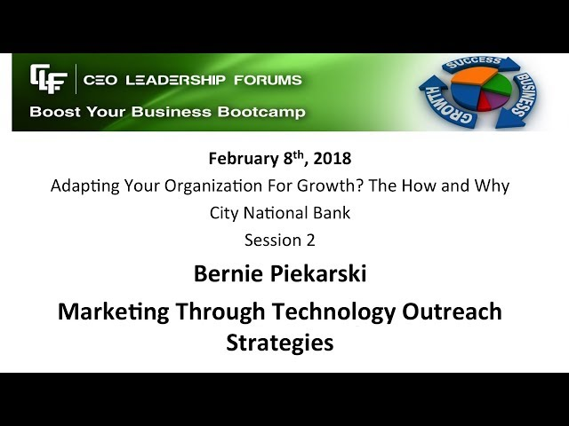 2018 02 08 CEO Leadership Session 2 Piekarski
