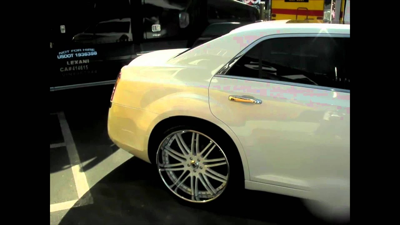 Dubsandtires Com 2012 Chrysler 300 Review 22 White