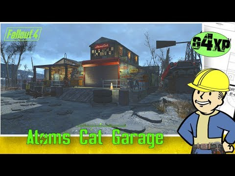 Atoms Cat Garage Build - building in Fallout 4