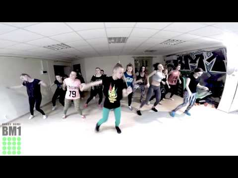 Dancehall routine by students BM1 Dance Home