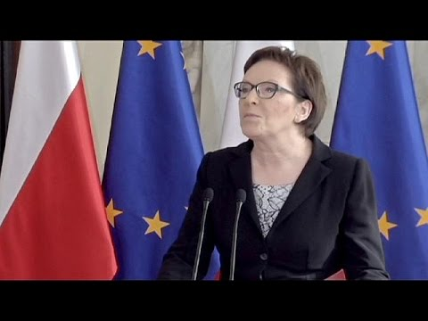 Poland's PM appoints political novices to cabinet