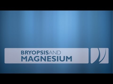 Get Rid Of Bryopsis With Magnesium Supplement