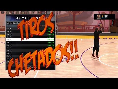 NBA2K16-Tiros Chetados!!