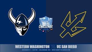 MBB | WWU vs. UC San Diego (11/9, 7:30 pm)