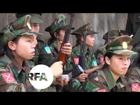 Women Join Militia Force in Myanmar | Radio Free Asia (RFA)