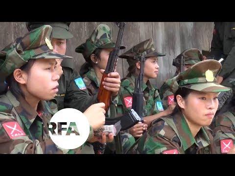 Women Join Militia Force in Myanmar | Radio Free Asia (RFA)