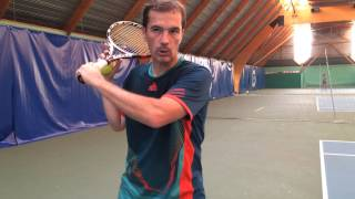 Vidéo USDEM Tennis : le slice de revers (choppé)