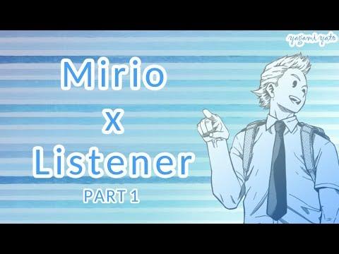 Mirio Togata x listener p1 ASMR [My Hero Academia] Sammich Ver
