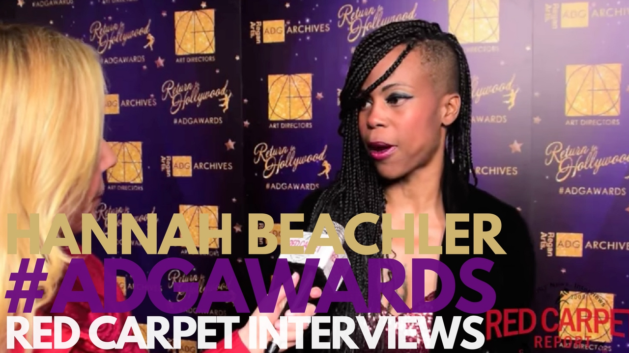 Hannah Beachler #Lemonade interviewed at 21st Excellence in ...
