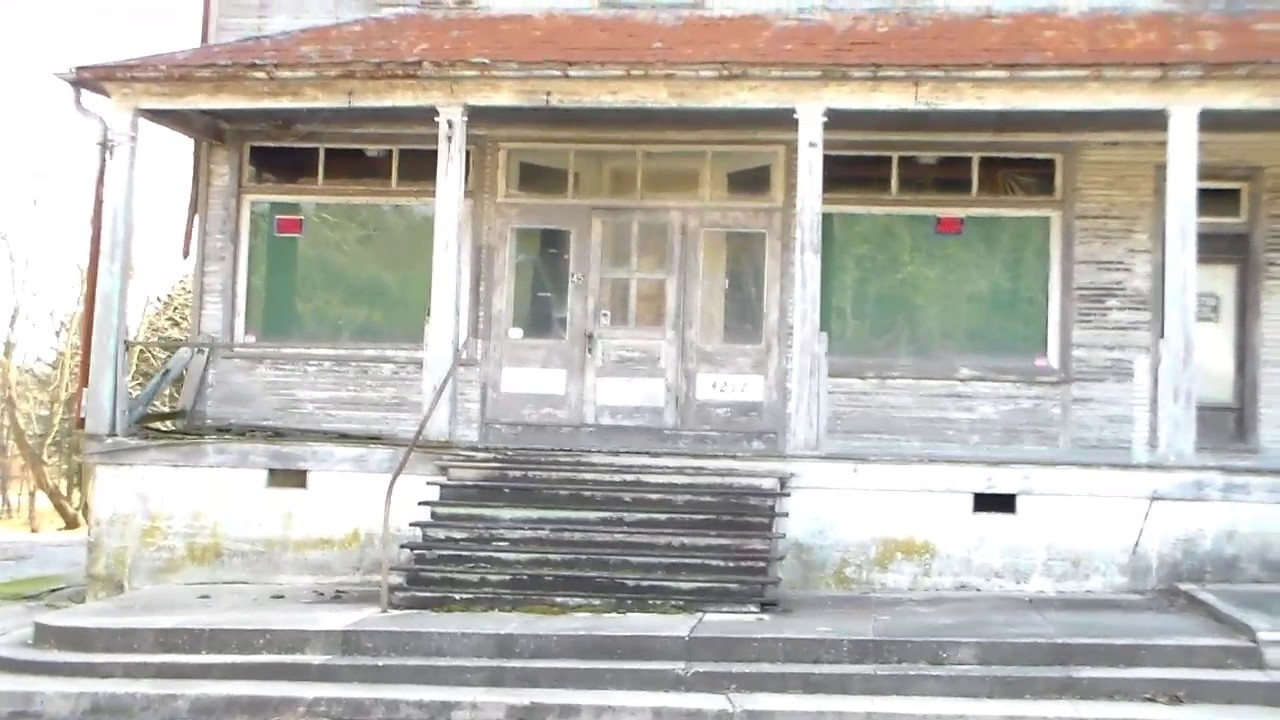 This Is The Building With Epic Luge Shot In It Abandoned Asylum Forest Haven