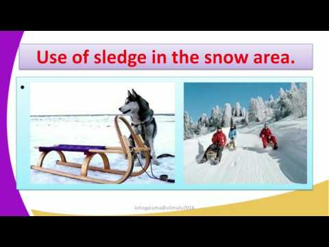 Form2 History Lesson12 DEVELOPMENT OF TRANSPORT The wheelless vehicles