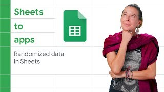 Create randomized data to test a Google Forms process in a Google Sheet - Sheets to Apps