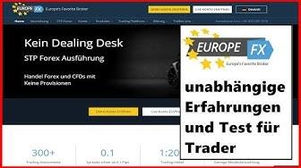 EuropeFX STP Broker - Echte Erfahrungen & Test ✔ Anleitung & Tutorial für Trader