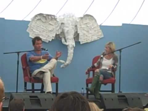 Dominic West speaks to Marina Hyde at Port Eliot Festival
