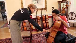 Sheku Kanneh-Mason Gets His 400-Year-Old Amati Cello Serviced By Legendary Luthier Florian Leonhard