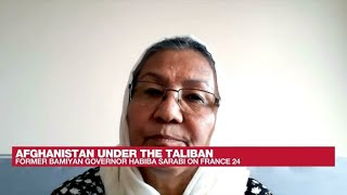 First female Afghan governor calls US withdrawal 'a big mistake' • FRANCE 24 English
