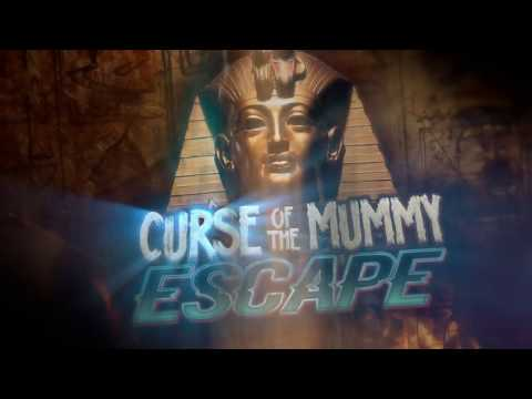 Curse of the Mummy Escape Room - Created by Blacklight Attractions