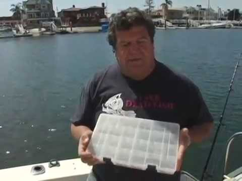 Dan hernandez shows Fishing Tackle for Calico Bass | SPORT FISHING