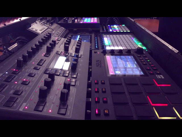 Akai Force MPC Live Access Virus Novation Circuit - Melodic Progressive Minimal House Techno Mix