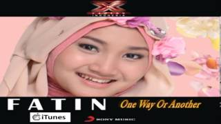 Fatin Shidqia Lubis XFI iTunes DEMO (ONE WAY OR ANOTHER - TEENAGE KICKS / ONE DIRECTION)