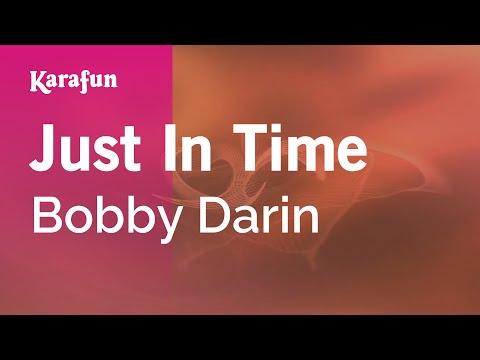 Karaoke Just In Time - Bobby Darin *