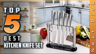 Top 5 Best Kitchen Knife Set Review in 2020