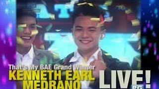 startalk that s my bae winner na si ken of cebu live