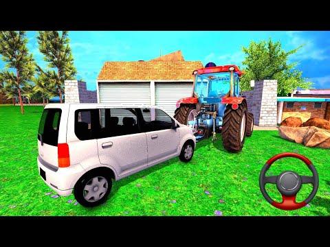 Direksiyonlu Traktör Çekme Oyunu | Traktör Simülatör Oyunu - Android Gameplay