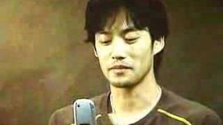 KDDI cell phone advertisment.
