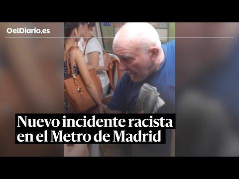 Nuevo incidente racista en el Metro de Madrid